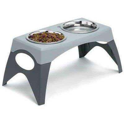 Bergan Elevated Stand Diner, Dog Dishes, Bergan - PetMax Canada