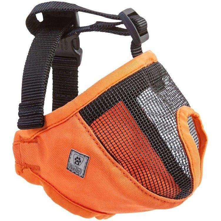 "Canine Equipment Short Snout Muzzle Training Products 9"" - 12"" / Orange 9"" - 12"" - PetMax.ca"