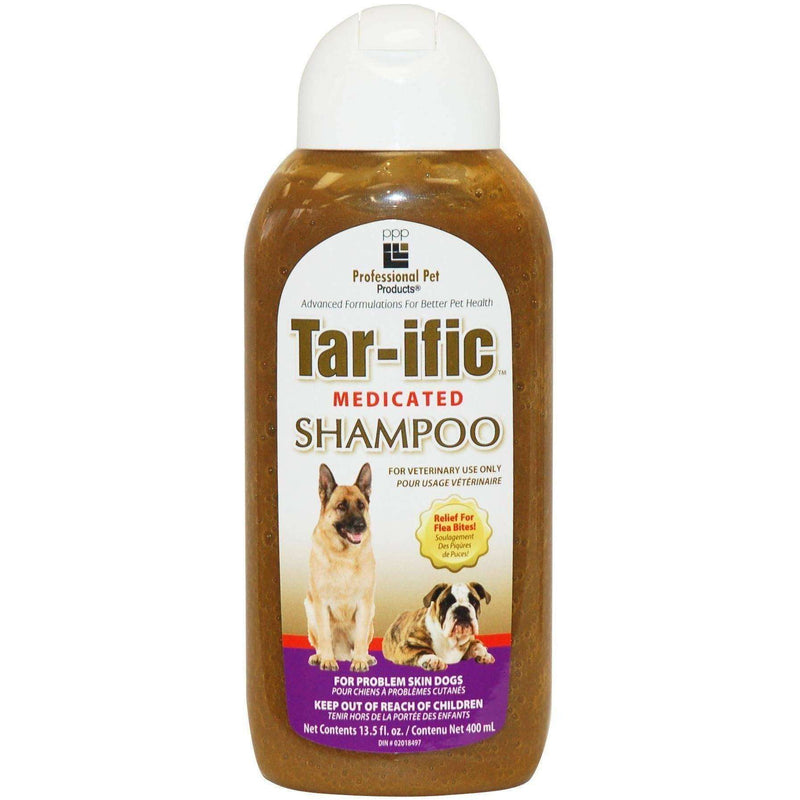 PPP Tar-Ific Medicated Dog Shampoo | Grooming -  pet-max.myshopify.com