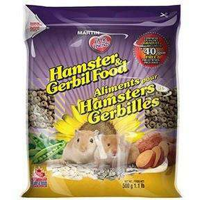 Martins Little Friends Hamster And Gerbil Food, Small Animal Food Dry, Martin Mills - PetMax Canada