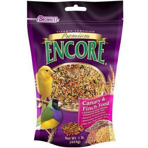 Brown's Premium Encore Canary Food, Bird Food, F.M. Bown's Sons Inc. - PetMax Canada