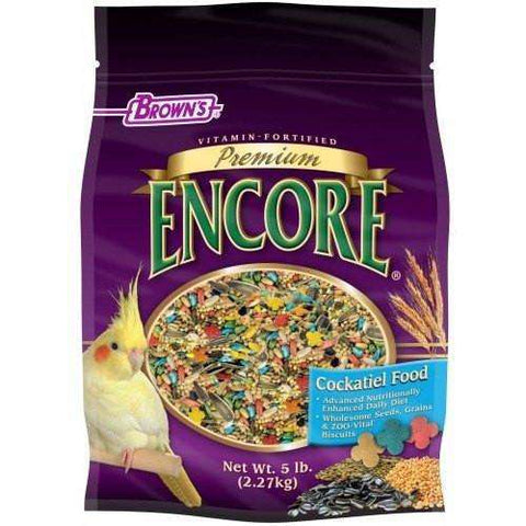 Brown's Premium Encore Cockatiel Food, Bird Food, F.M. Bown's Sons Inc. - PetMax