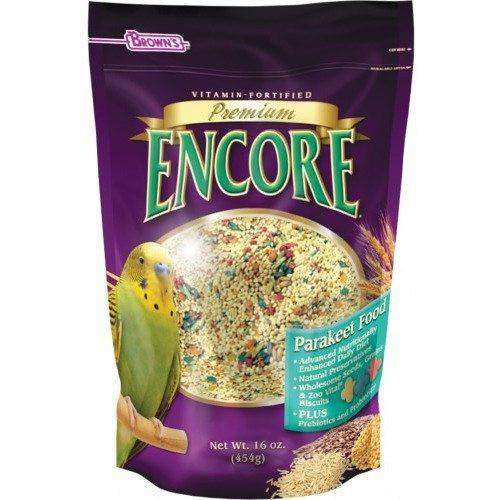 Brown's Premium Encore Parakeet Food | Bird Food -  pet-max.myshopify.com