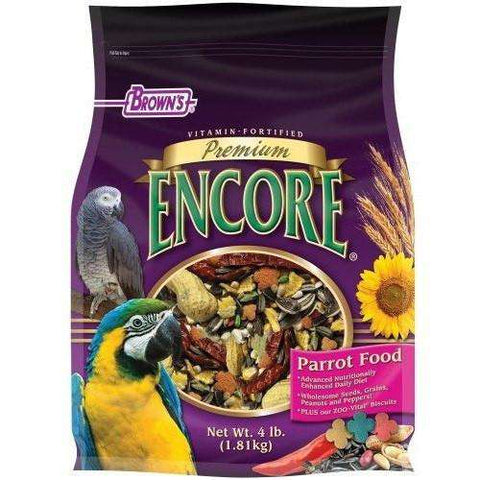 Brown's Premium Encore Parrot Food, Bird Food, F.M. Bown's Sons Inc. - PetMax