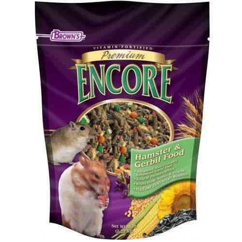 Brown's Premium Encore Hamster Food | Small Animal Food Dry -  pet-max.myshopify.com