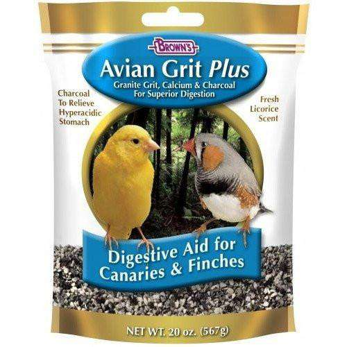 Brown's Fortified Avian Grit | Bird Food -  pet-max.myshopify.com