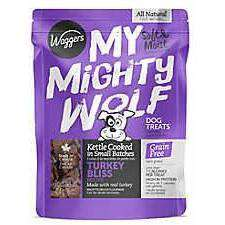 Waggers My Mighty Wolf Dog Treats Turkey, Dog Treats, Waggers Pet Products - PetMax Canada