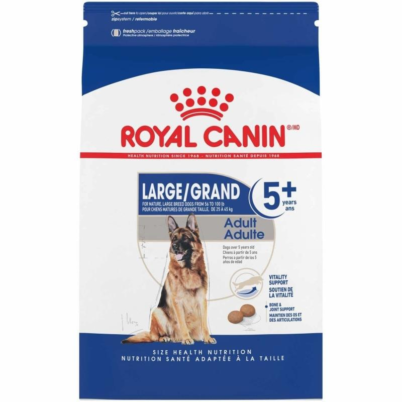 Royal Canin Dog Food Large Aging Care Adult 5+  Dog Food - PetMax