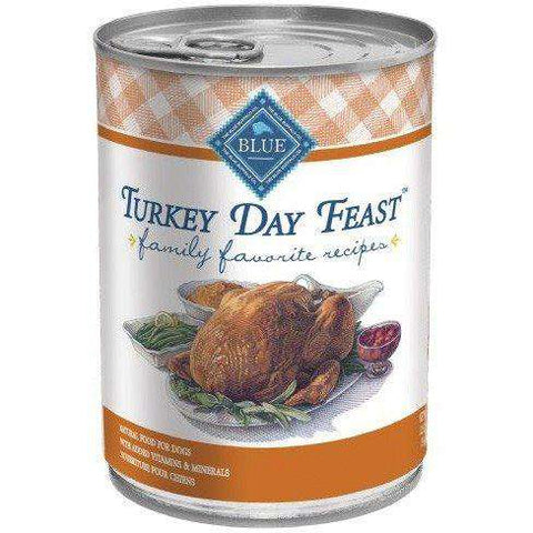 Blue Buffalo Family Favorite Recipe Turkey Day Feast, Canned Dog Food, Blue Buffalo Company - PetMax