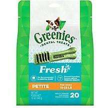 Greenies Fresh Treats Petite, Dog Treats, Greenies - PetMax Canada
