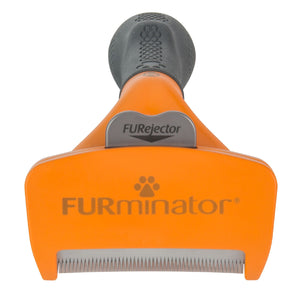 Furminator Deshedding Tool Short Hair Medium Grooming - PetMax