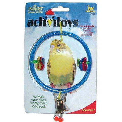 Activitoys Ring Clear, Bird Toys, JW Pet Company - PetMax
