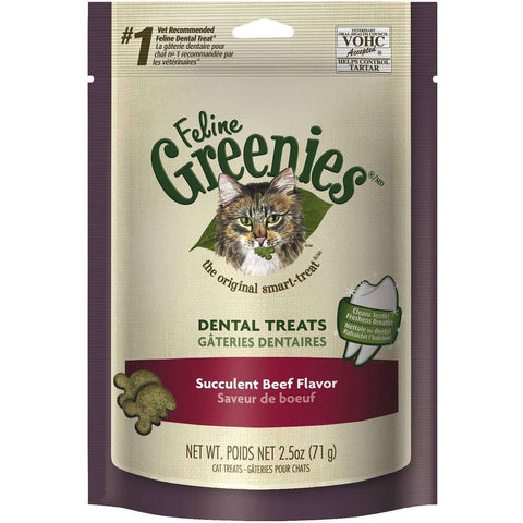 Greenies Feline Succulent Beef Flavour, Cat Treats, Greenies - PetMax
