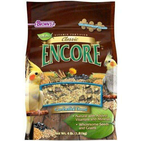 Brown's Natural Cockatiel Food