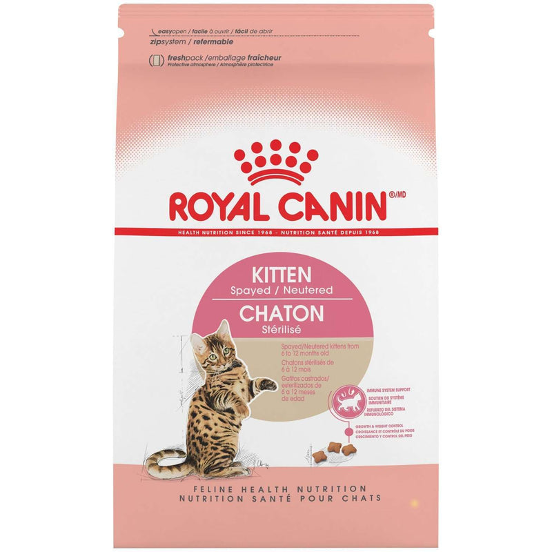 Royal Canin Kitten Food Spay & Neutered  Dry Cat Food - PetMax