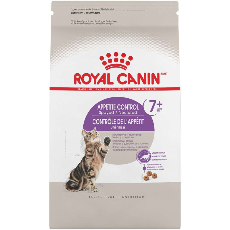 Royal Canin Cat Food Appetite Control Spay & Neutered 7+  Dry Cat Food - PetMax