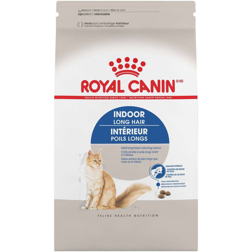 Royal Canin Cat Food Indoor Long Hair  Dry Cat Food - PetMax