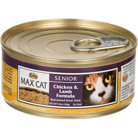 Max Canned Cat Food Chicken & Lamb