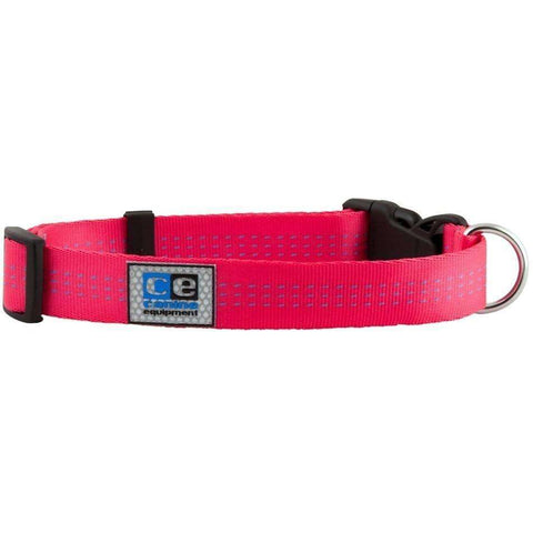 Canine Equipment Utility Clip Collar Raspberry