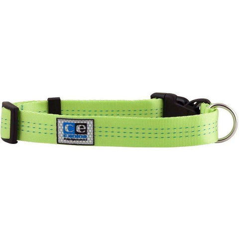 Canine Equipment Utility Clip Collar Lime, Dog Collars, RC Pet Products - PetMax Canada