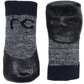 Pawks Sport Indoor/Outdoor Socks Charcoal Heather, Dog Clothing, Spring Collection - PetMax Canada