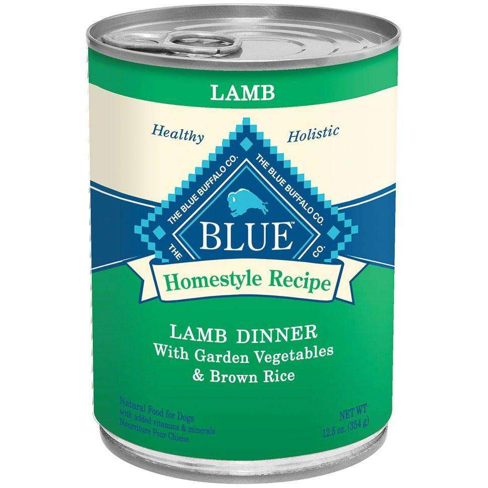 Blue Buffalo Homestyle Canned Dog Food Lamb Dinner  Canned Dog Food - PetMax