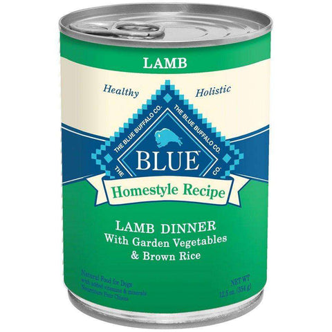 Blue Buffalo Homestyle Canned Dog Food Lamb Dinner, Canned Dog Food, Blue Buffalo Company - PetMax