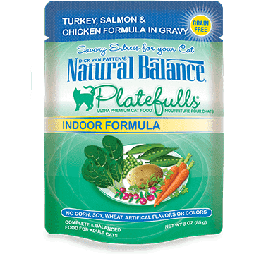 Natural Balance Platefulls Indoor Turkey & Salmon | Canned Cat Food -  pet-max.myshopify.com