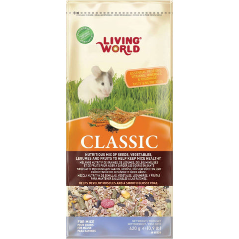 Living World Classic Mouse Food, Small Animal Food Dry, Rolf C Hagen Inc. - PetMax