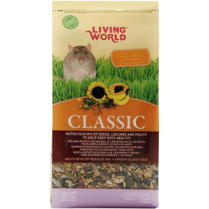 Living World Classic Rat Food Small Animal Food Dry [variant_title] [option1] - PetMax.ca