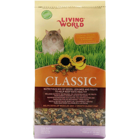 Living World Classic Rat Food, Small Animal Food Dry, Rolf C Hagen Inc. - PetMax