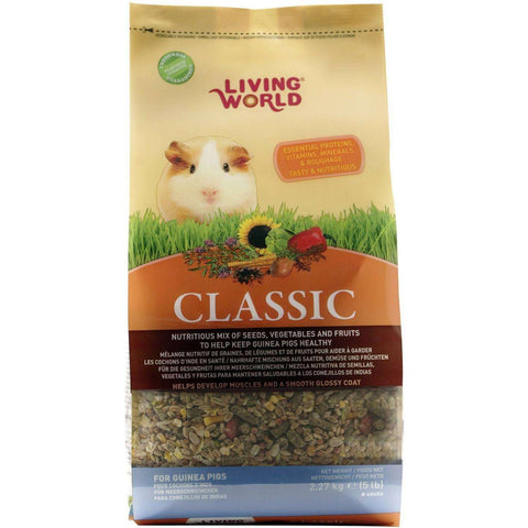 Living World Classic Guinea Pig Food, Small Animal Food Dry, Rolf C Hagen Inc. - PetMax