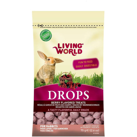 Living World Rabbit Treat Field Berry, Small Animal Food Treats, Rolf C Hagen Inc. - PetMax