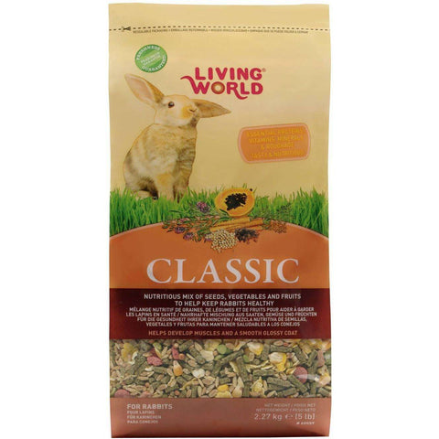 Living World Classic Rabbit Food, Small Animal Food Dry, Rolf C Hagen Inc. - PetMax