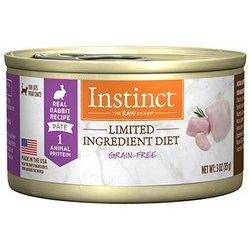 Instinct Canned Cat Food Limited Ingredient Diet Grain Free Rabbit  Canned Cat Food - PetMax