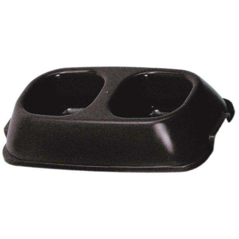 Vanness Double Diner Heavyweight Dog Dish, Dog Dishes, Vanness - PetMax