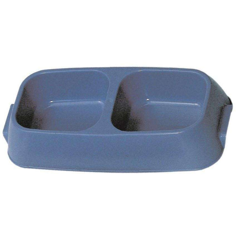 Vanness Double Diner Lightweight Dog Dish  Dog Dishes - PetMax