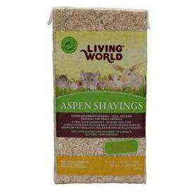 Living World Aspen Shavings | Small Animal Litter -  pet-max.myshopify.com