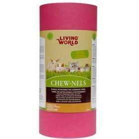 Living World Cardboard Chew-Nels With Nesting Small Animal Chew Products Medium Medium - PetMax.ca