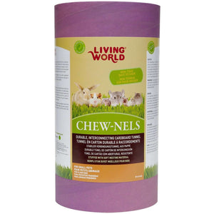 Living World Cardboard Chew-Nels With Nesting | Small Animal Chew Products -  pet-max.myshopify.com