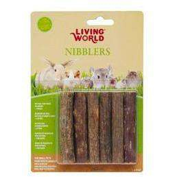 Living World Nibblers Wood Chews Kiwi Sticks  Small Animal Houses - PetMax