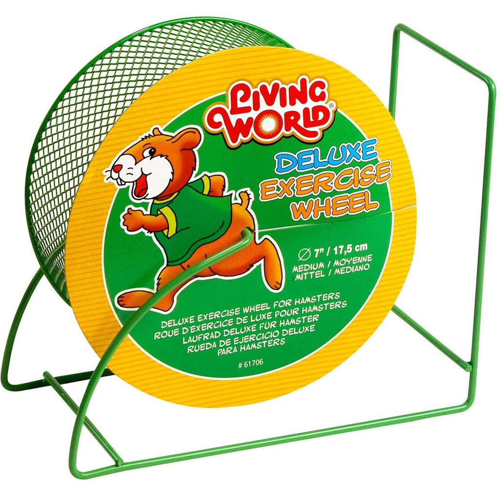 Living World Wire Mesh Hamster Wheel  Small Animal Toys - PetMax