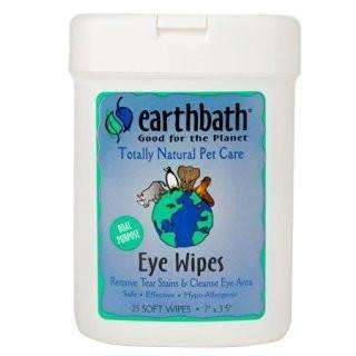 Earthbath Natural Eye Wipes Health Care [variant_title] [option1] - PetMax.ca