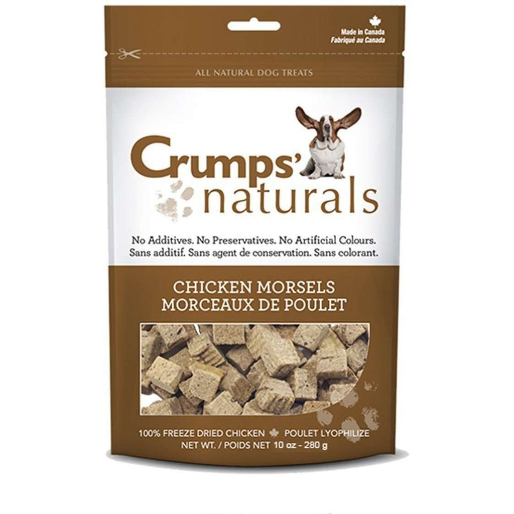 Crumps Naturals Chicken Morsels | Dog Treats -  pet-max.myshopify.com