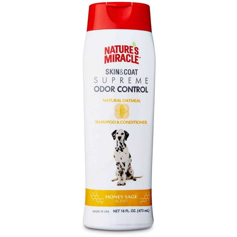 Nature's Miracle Odor Shampoo Oatmeal, Grooming, Nature's Miracle - PetMax