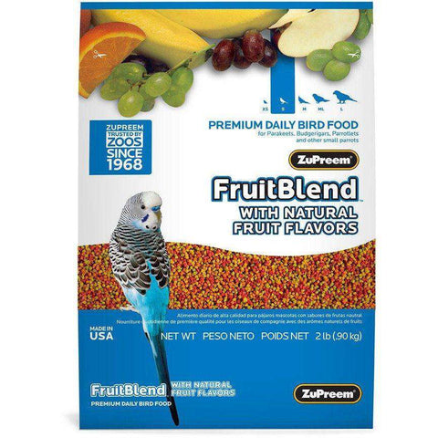 Zupreem Fruit Blend Parakeet, Bird Food, Zupreem Premium Nutritional Product - PetMax