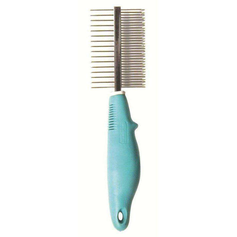 Pro Plus Comb Double Sided With Handle | Grooming -  pet-max.myshopify.com