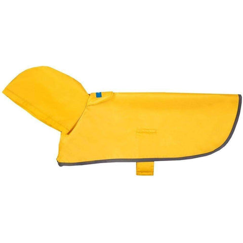RC Dog Packable Rain Poncho Yellow