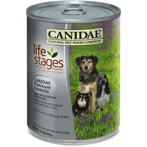 Canidae Canned Dog Food Platinum Chicken & Fish, Canned Dog Food, Canidae Pet Foods - PetMax