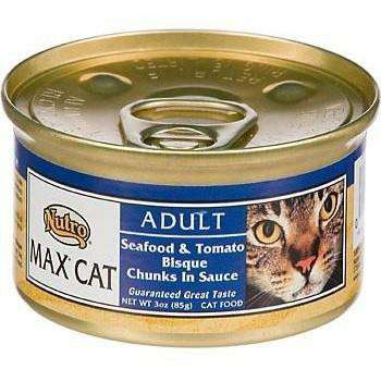 Max Canned Cat Food Seafood & Tomato